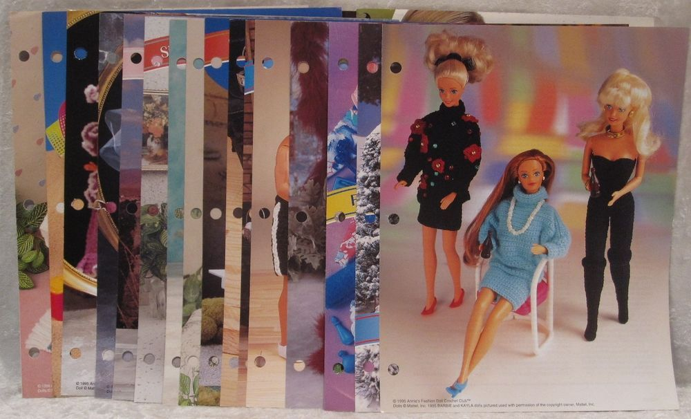 Annies Attic Crochet Patterns And Plastic Canvas You Pick Leaflets