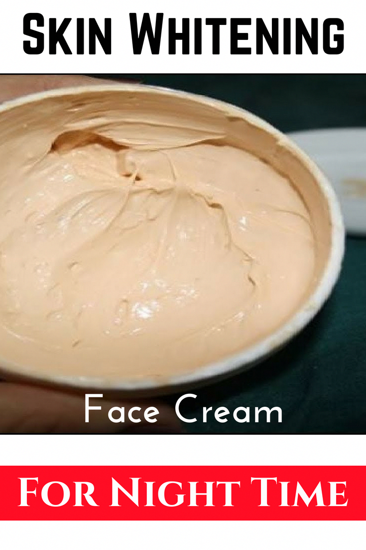 Homemade night time face cream !! #skin #diy #skincare #fairskin