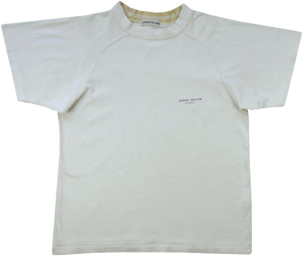 Vintage Stone Island Marina T Shirt Size Medium Shirt Size Shirts T Shirt
