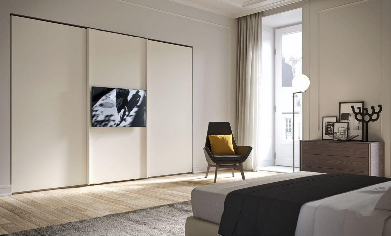 Armadio Con Tv Integrata.Armadio Con Televisore Incorporato Prezzi Armadio Porte