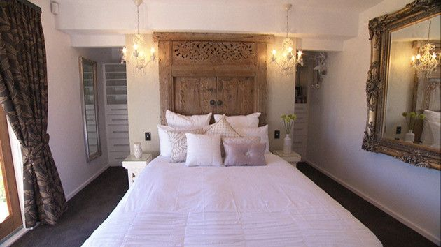 Master Bedroom House Rules balinese doors as bed headas seen on house rules. | ☪ dream