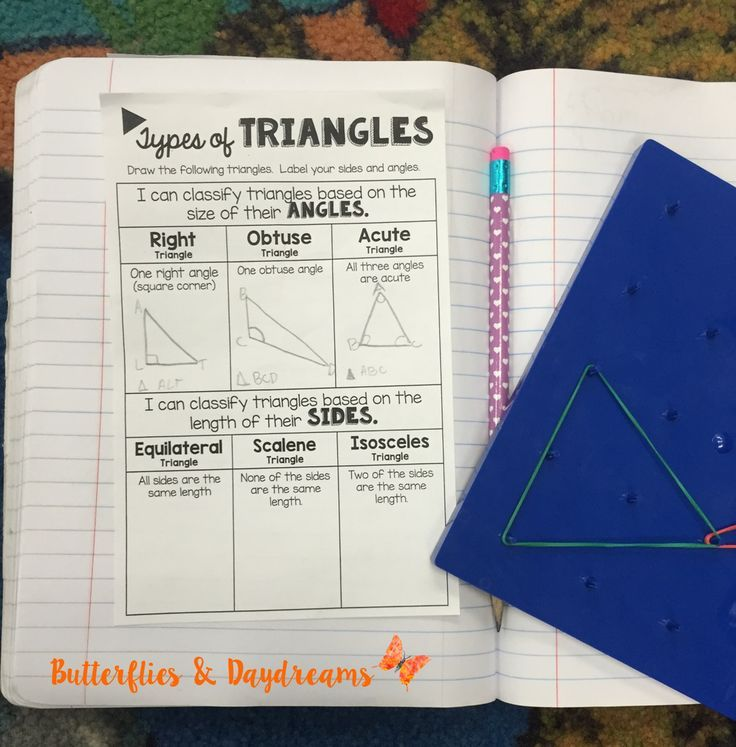 Lesson 41: Triangles and Quadrilaterals