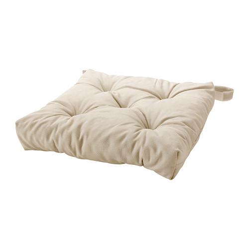 MALINDA Stoelkussen IKEA Klittenband houdt het stoelkussen op zijn plaats. Machinewasbaar, makkelijk schoon te houden.