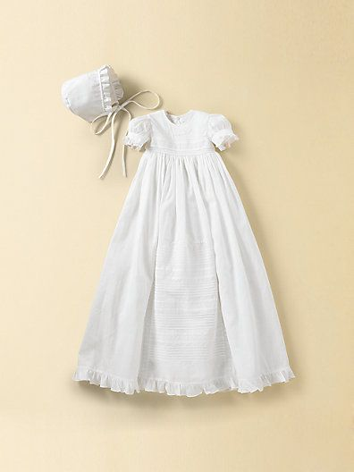 Kissy Kissy Infant S Christening Gown Bonnet Set Nicole Saks