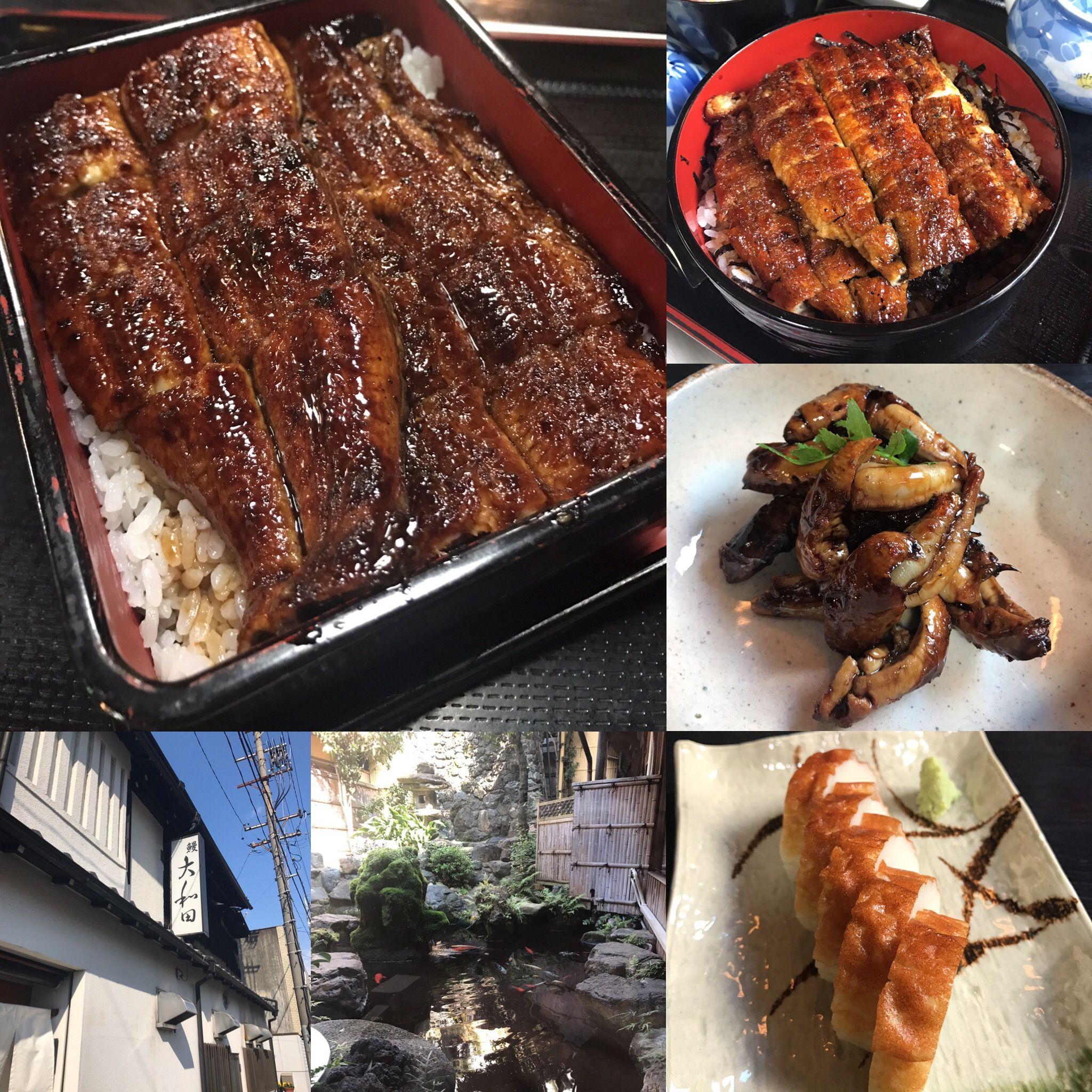 今週は連続でうなぎ大和田さんへ❣️ ☆*:.。. o(≧▽≦)o .。.:*☆  東京のお客様も、香川のお客様も皆んな鰻が大好き❣️  終始、美味しい笑顔でご満悦でした❣️  大和田さんの美味しい鰻料理❣️  個人的には豪快なうな重がおすすめです❣️  感謝❣️  #鰻 #鰻料理の大和田 #うな肝 #板わさ #鰻は焼きたてホクホク #うな重とひつまぶし #個人的にはうな重 #県外のお客様はひつまぶしが気になる #名古屋市熱田区 #breakthroughnagoya #breakthroughjapan
