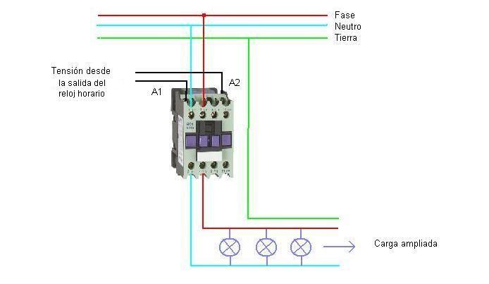 Solucionado Como Conectar Un Contactor Para Llave Temporizador Digital Electricidad Domic Electricidad Electricidad Y Electronica Electricidad Industrial