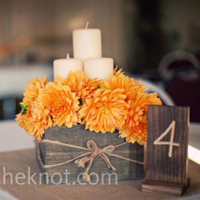 Rustic box as centerpiece my style pinterest centerpieces rustic box as centerpiece junglespirit Images