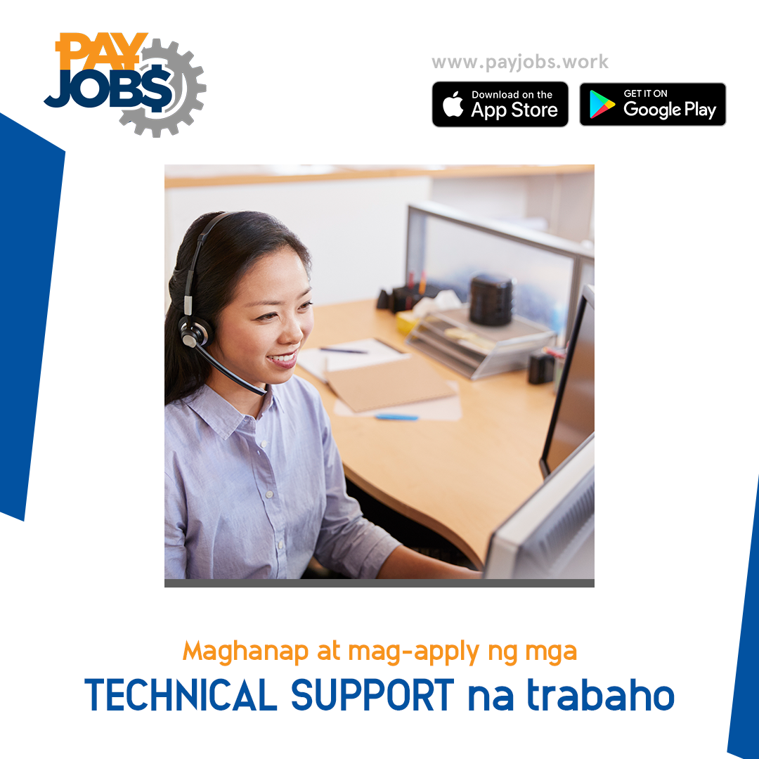 Are You Looking For Job As A Technical Support Download Payjobs