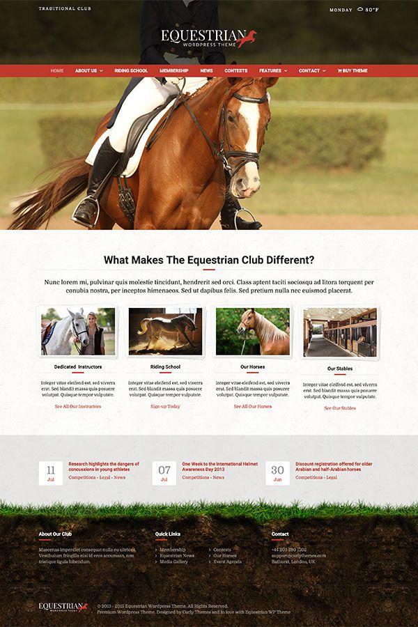 equestrian-animal-wordpress-theme