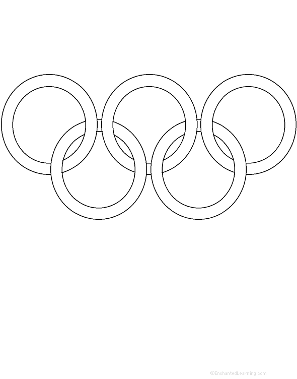 Olympic Rings Printable