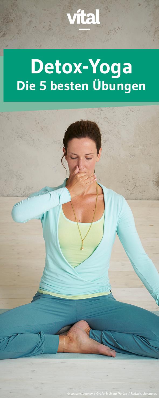 detox yoga #detox Mit einfachen Yoga-bungen Geist und Krper etwas Gutes tun. #yoga #yogabungen #ents...