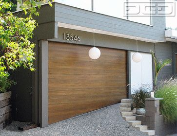 Pin By Ladckrsn On Laura St Modern Garage Doors Garage Door Design Modern Garage