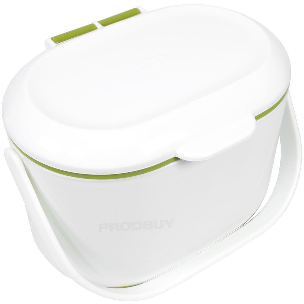 addis white u0026 green plastic worktop kitchen compost recycling bin caddy holder
