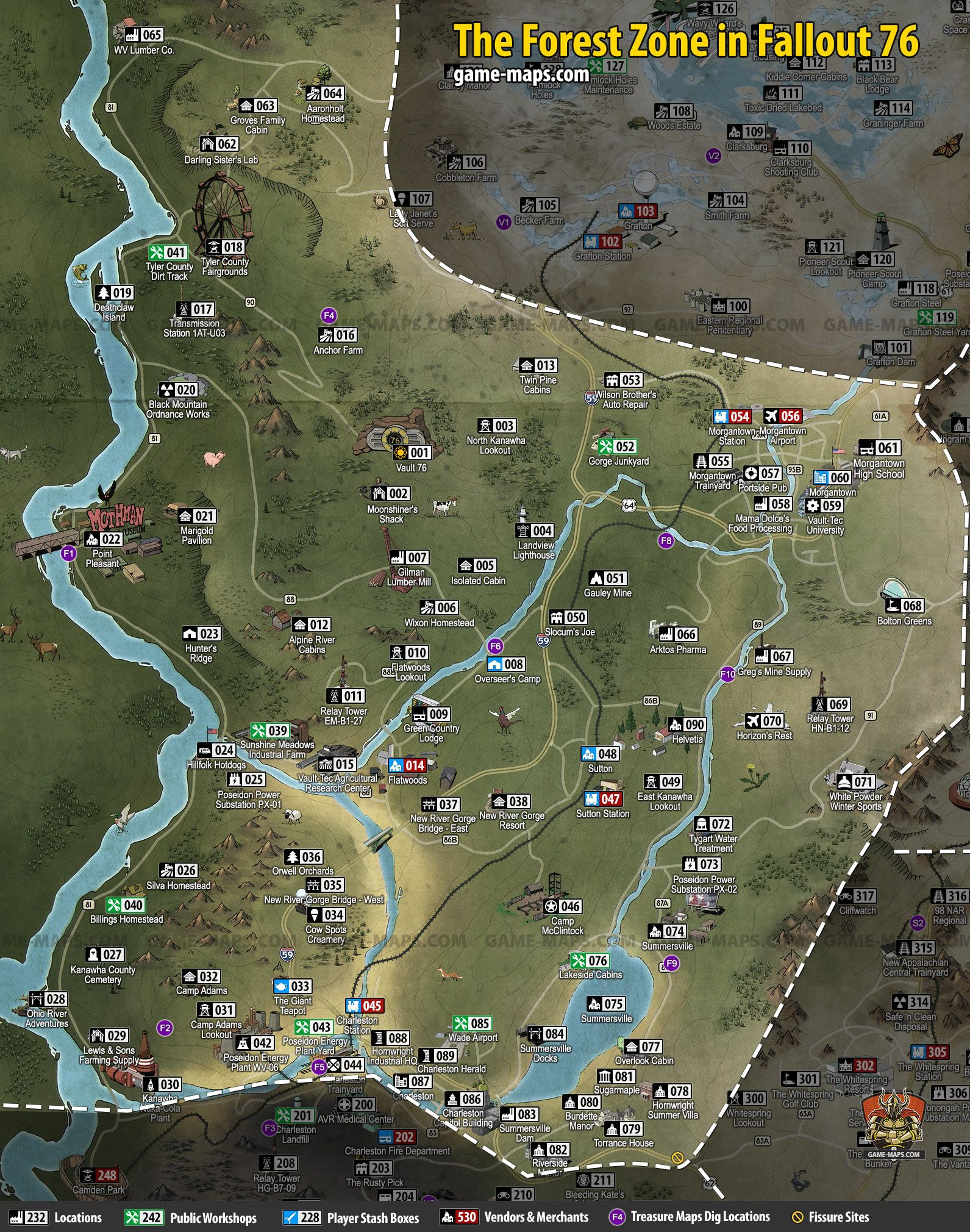 Fallout 76 Resource Map : fallout, resource, Curtis, Murphy, (curtisrkerry), Profile, Pinterest