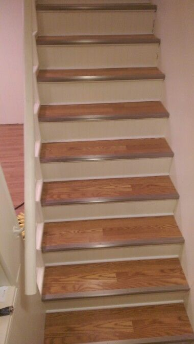 Laminate Stair Treads Projects Laminate Stairs Stairs