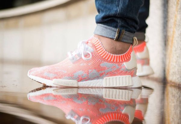 Adidas NMD R1 Primeknit Camo | chaussure | Baskets, Sneakers
