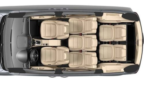 VW Sharan top view | Cars-top | Pinterest