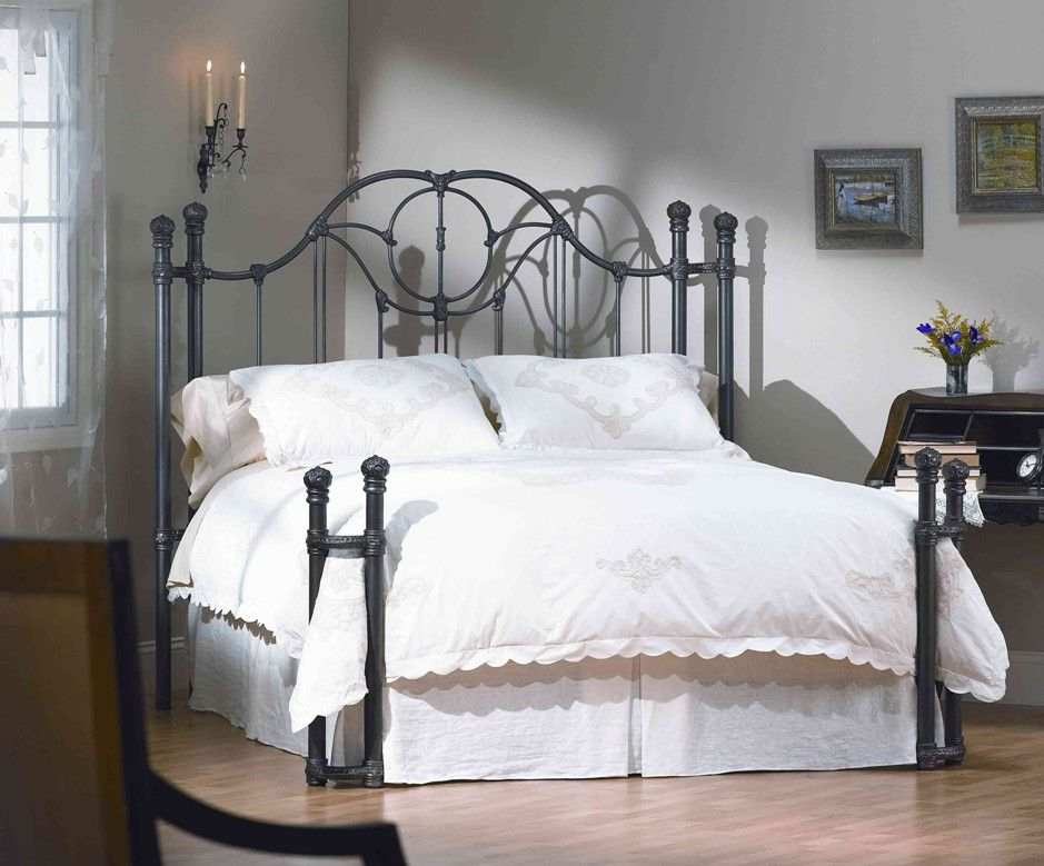 wrought iron queen bed frame plans all king bed - Wrought Iron Queen Bed Frame