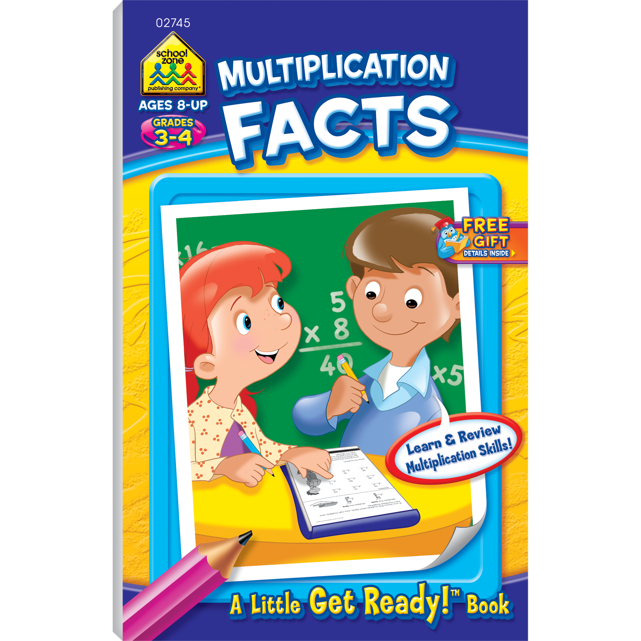 Multiplication Facts Little Get Ready Book
