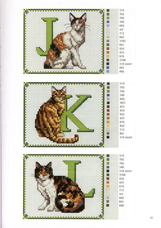 Gallery.ru / Фото #8 - Francien van Westering - Katten borduren met francien - anfisa1