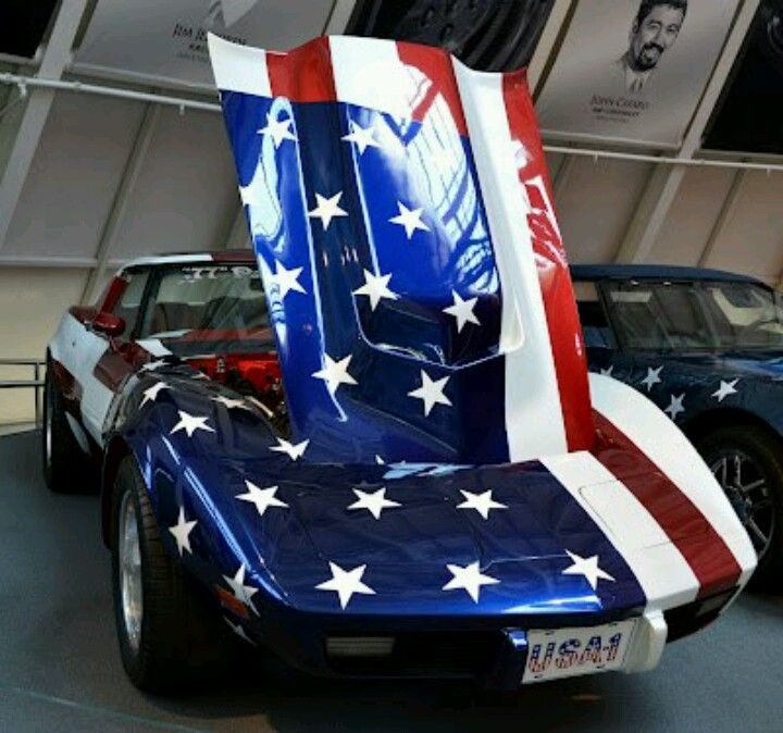 #USA American Muscle Car Appreciated By Motorheads