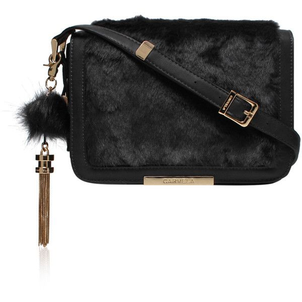 f6ae407580 Carvela Kurt Geiger Cale X Body Fur Bag ( 55) ❤ liked on Polyvore featuring  bags