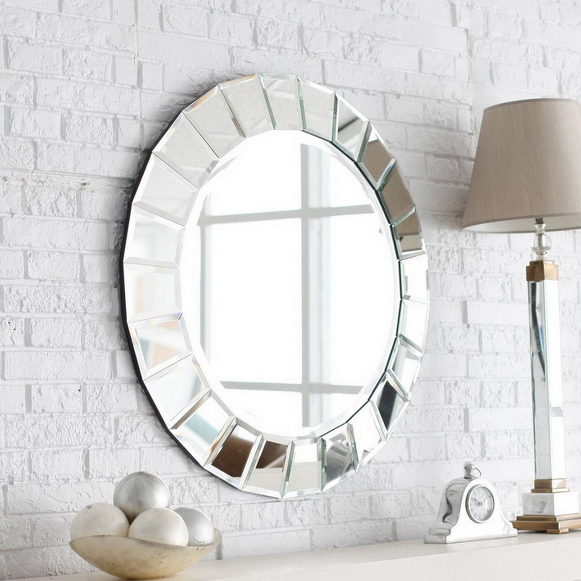 Delicieux Designer Round Bathroom Mirrors Ideas
