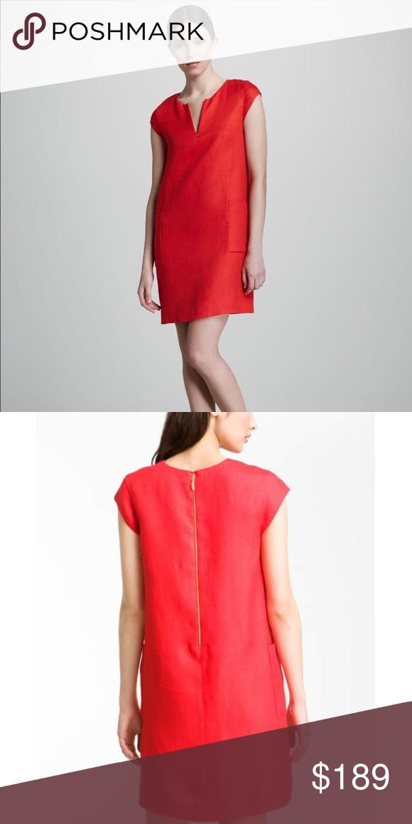 5fa03759792 Kate Spade Teri Linen Shift Dress EUC! No flaws. Will post photos of actual