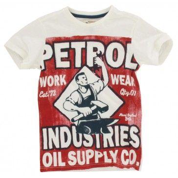 Petrol Industries T shirt Print wit | Best t shirt designs