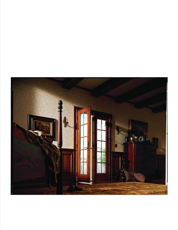 Andersen 400 Series Frenchwood Hinged Patio Doors Inswing