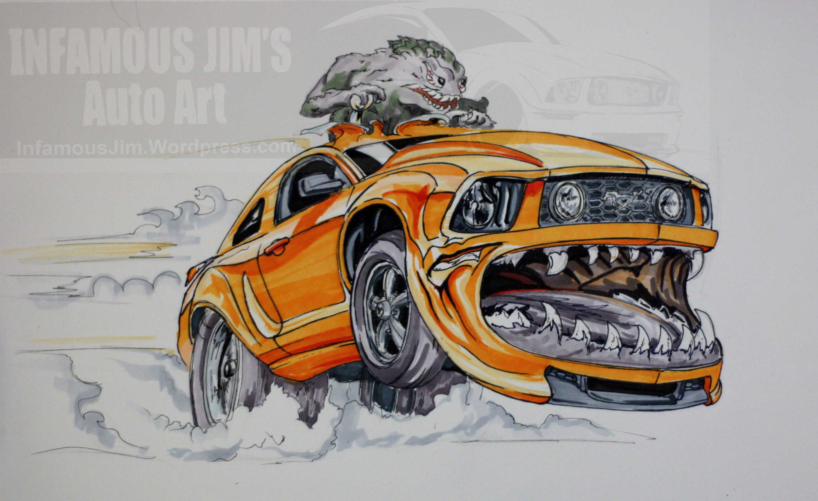 Really Cool Cartoon Cars Car Club Drawing Car Art Car Cartoon