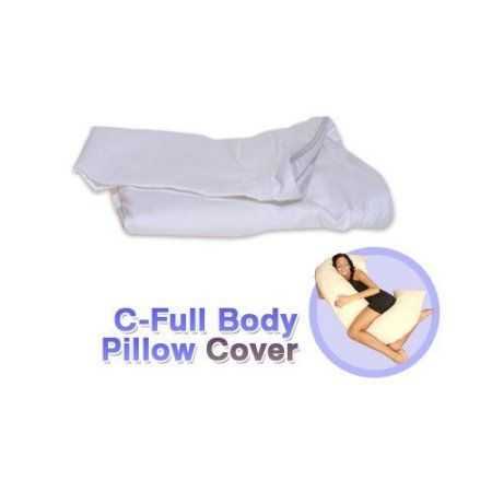 High Quality Living Healthy Products Cpilc 002 01 C Full Body Pillow Cover In White