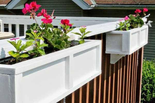 16 Ways To Customize Your Deck Planters Decks And Diy Deck 640 x 480