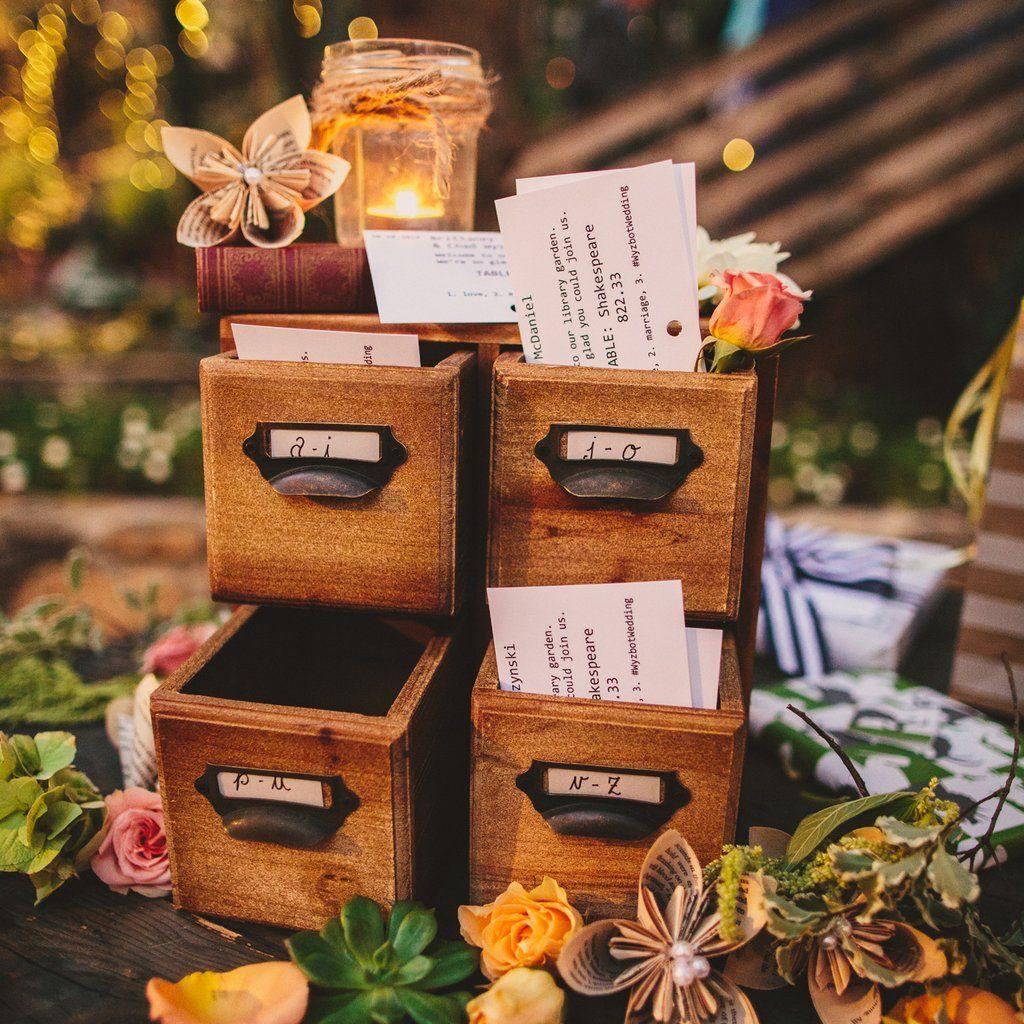 60+ Ways To Add Literary Charm To Your Wedding