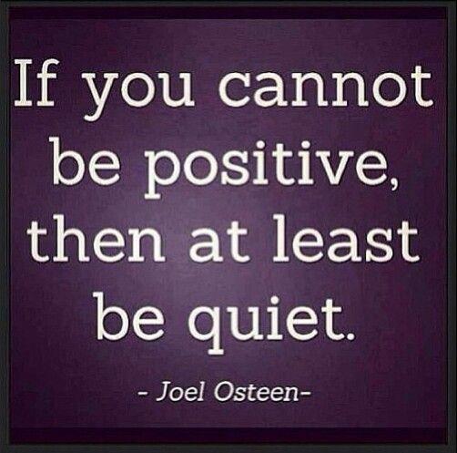 No negativity zone