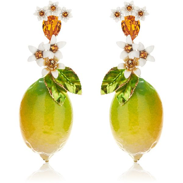 gold gabbana dolce tone earrings and enamel browse crystal shopstyle xlarge