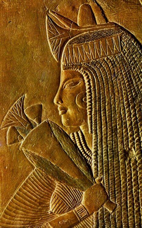 Relief fun233raire 233gyptien 18232me dynastie mus233e du Louvre