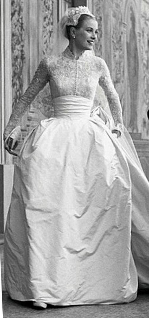 Grace Kelly. The epitome of bride. Ava\'s inspiration!   Denenecek ...