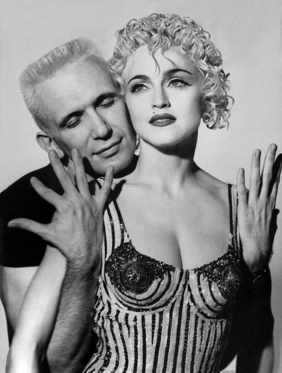 jean-paul gaultier and madonna. | Jean paul gaultier, Madonna, Glamour france