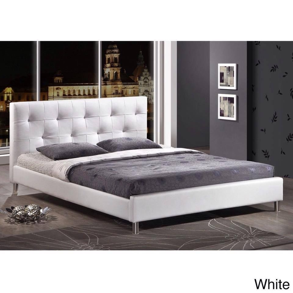 Lacquered made in spain wood modern platform bed with tiles milwaukee - Explore Tufted Bed Upholstered Platform Bed And More