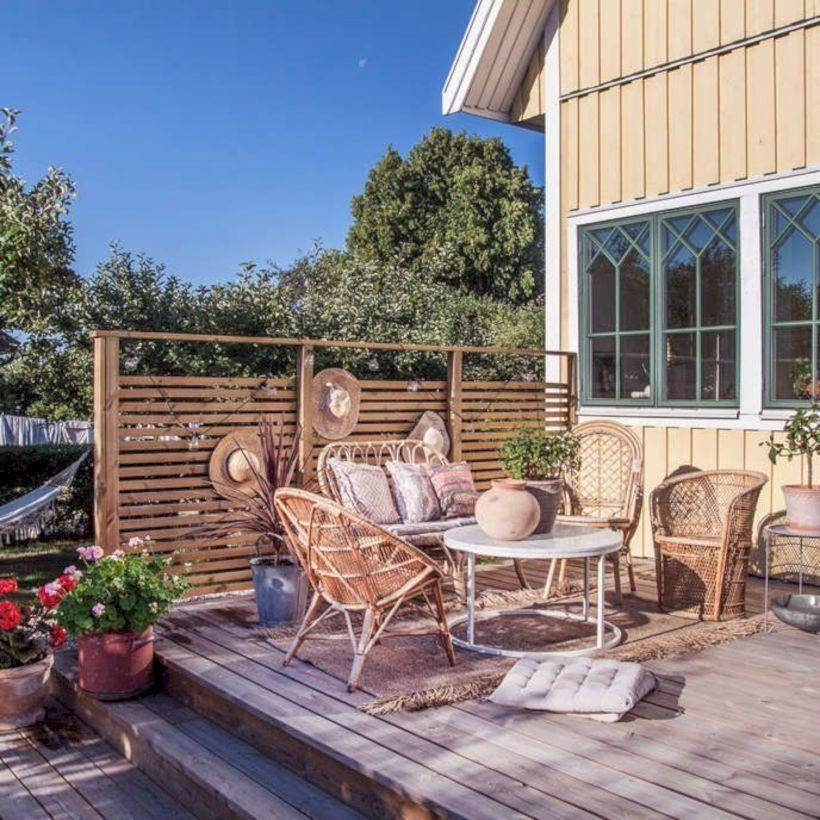 39 Scandinavian Balcony Designs For Spring Decor Homeridian Com