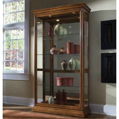 Pulaski Keepsakes Curio Cabinet Wayfair Curio Cabinet Pulaski