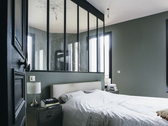 chambre avec verriere astuce pinterest r novation. Black Bedroom Furniture Sets. Home Design Ideas