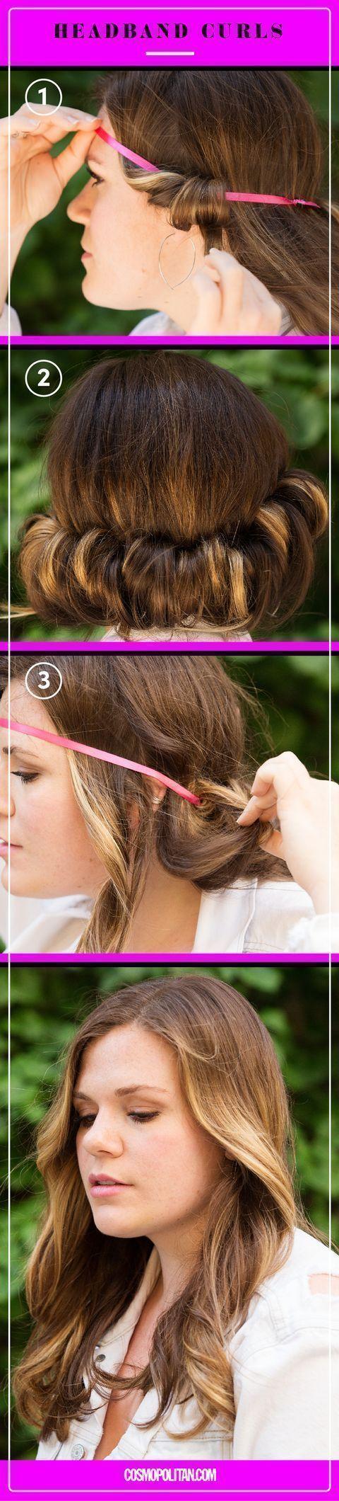 9 Easy No Heat Ways To Style Wet Hair Noheathair 9 Easy No Heat Ways To Style Wet Hair Easy Hair Hairstyle Haar Styling Nasse Haare Locken Fur Lange Haare