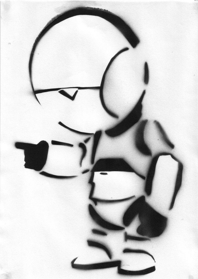 Super Cool Creative Stencils and Banksy Promo | Abduzeedo ...
