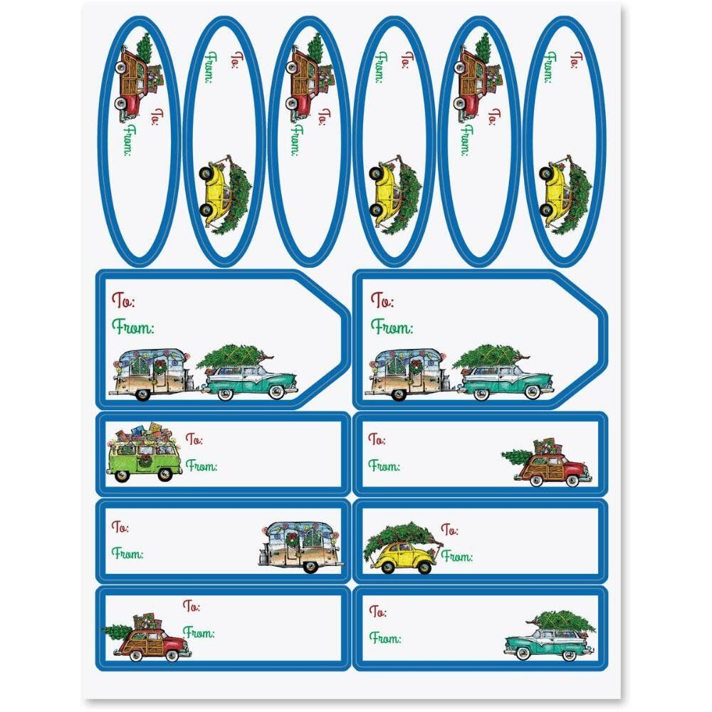 Christmas Vacation Labels * See this great product.