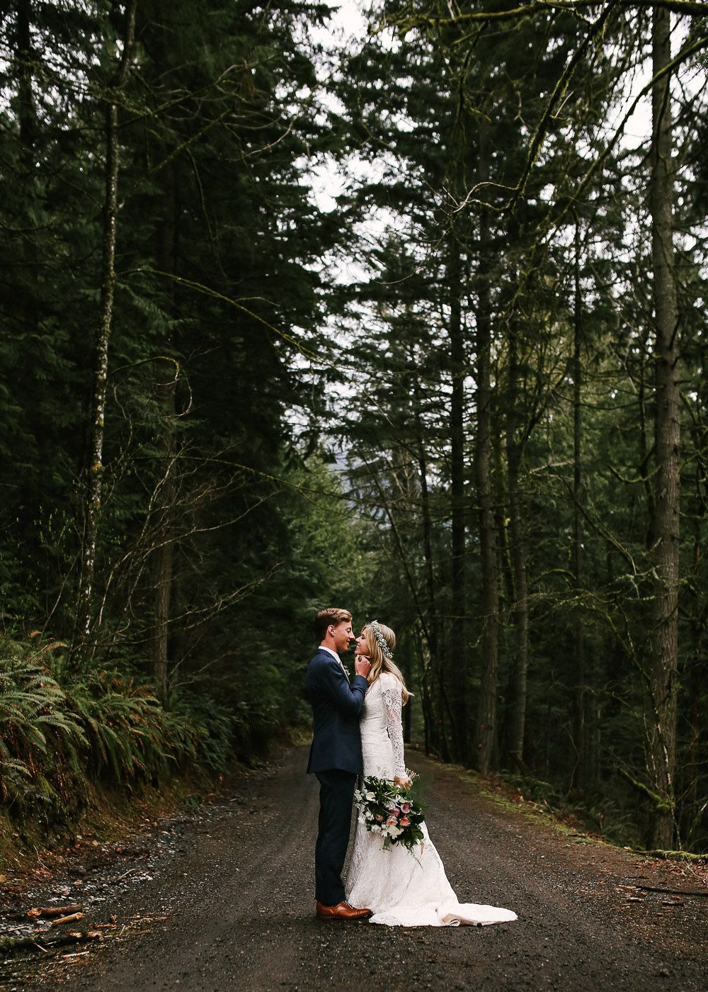 Nature wedding dress  modest wedding dress with long sleeves from alta moda  modest