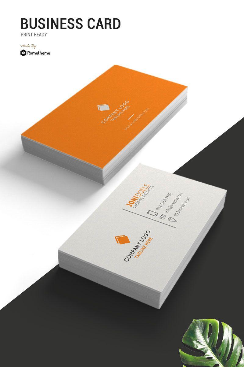 Joni Doels Business Card Corporate Identity Template Ad Business Do Business Cards Corporate Identity Business Cards Creative Professional Business Cards