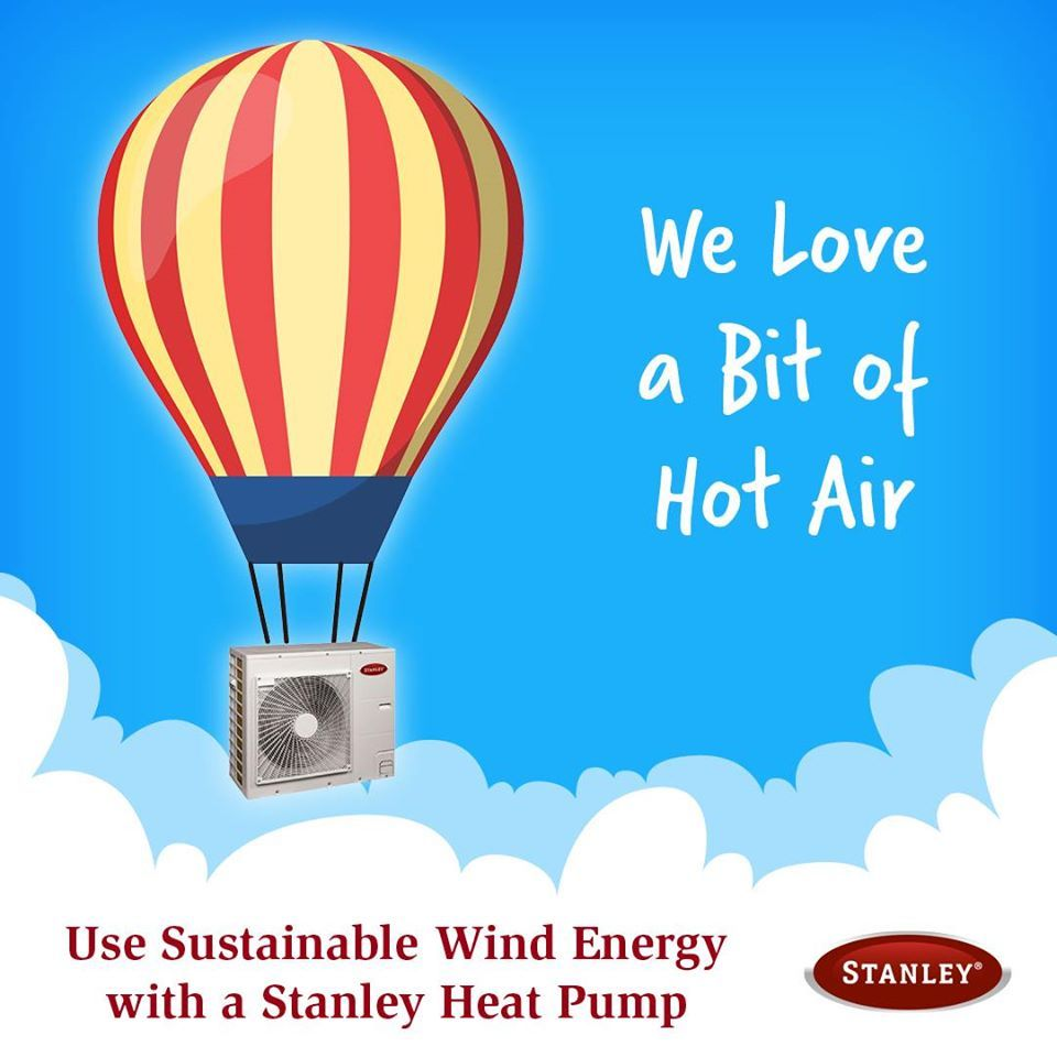 Better For You Better For Nature Air To Water Heat Pumps Are Central Heating Systems That Are An Extremely Effic In 2020 Heat Pump Central Heating System Wind Energy