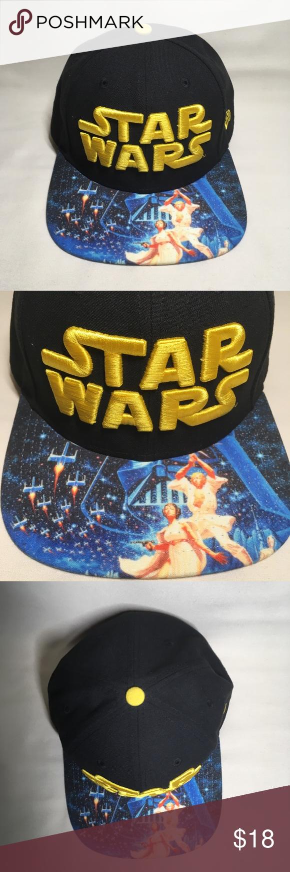 4cdb18be4c3d2 Star Wars Viza Print snapback hat New w  tag! Never worn! Star Wars Viza  Print snapback hat by New Erasing New Era Accessories Hats